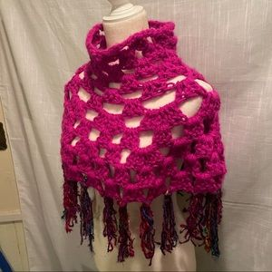 New Crochet short cape